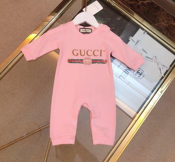 Mode Marque Garçons Fille barboteuses Vêtements en coton bébé nouveau-né tout-petits enfants Vêtements 09198