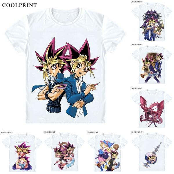 Yami Yugi Dark Yugi Yami T Shirt Duel Monsters Yuu Gi Ou Yu-Gi-Oh King of Games Men Casual TShirt Premium T-Shirt Short Sleeve Shirt