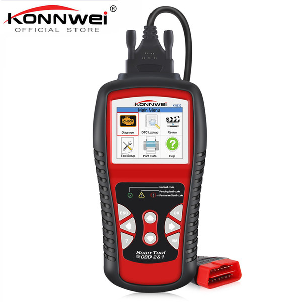 KONNWEI KW830 OBD2 ODB2 Automotive Scanner for Car Diagnosis Universal Auto Fault Error Code Reader ODB2 Car Diagnostic Scanner