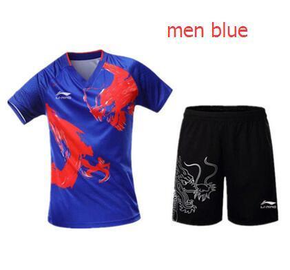men blue set