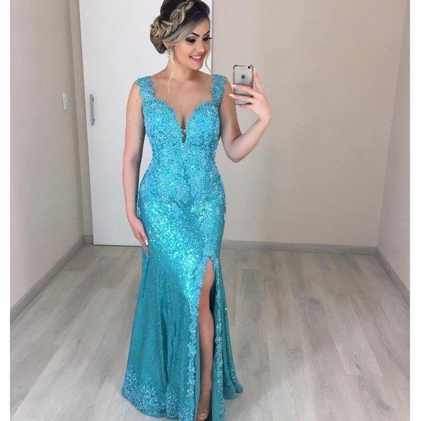 Grandes Tailles sexy de bal robes de cocktail soirée arabe musulmane formelle robe de bal sirène Robe longue