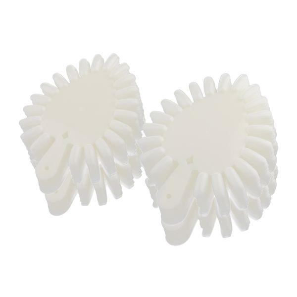 Gran cantidad de en forma de corazón Falsas falsas Nail Art Tips Palos Polish Gel Salon Display Tabla Herramienta de práctica (840 tips)