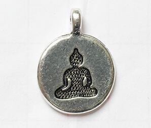 Silver Buddha 19cm
