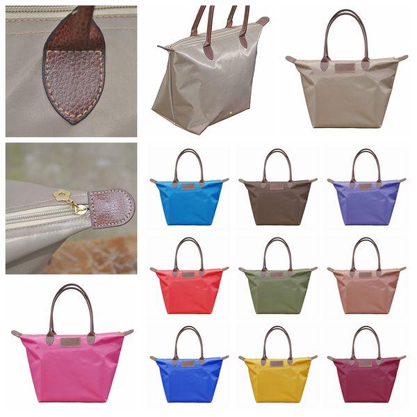 18styles Dumpling Handbag Donna Colore Candy Borsa cosmetica Impermeabile Borsa per la spesa Totes Shopping Bags borsa da viaggio borsone custodia portatile FFA2011