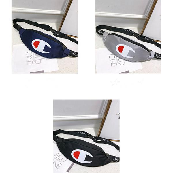 Unisex Champions Oxford Cloth Funny Packs Crossbody Waist Chest Bags Belt Strap Handbag Shoulder Bags Travel Beach Sports Tote Pouch C51306
