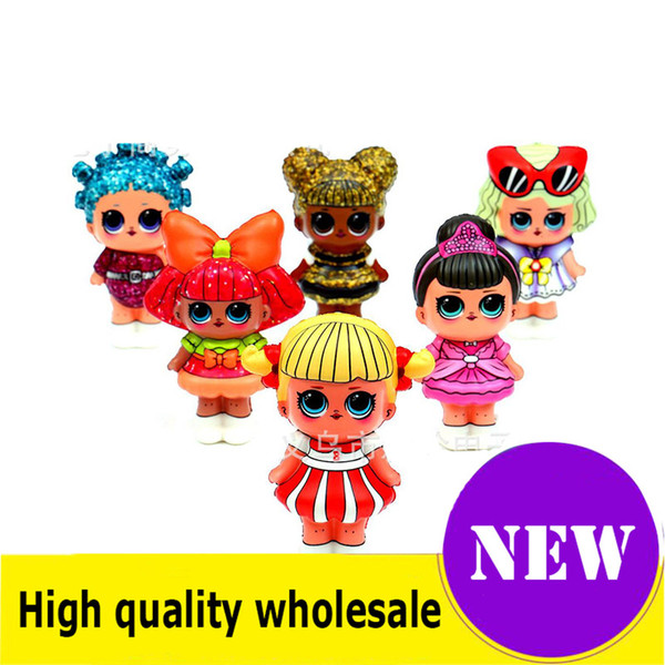 top popular LOL doll Squishy Toy Slow Rising Jumbo Stress Relieve Dolls Multicolor Children Squeeze Toys Kids Decompression Toys best 2020