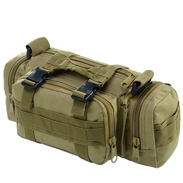 Brand Fishing Waist Bag Men Women Waterproof Multifunctional Bags Outdoor Shoulder Bait Lure Storage Bag Outdoor Fishing Tackle #85314
