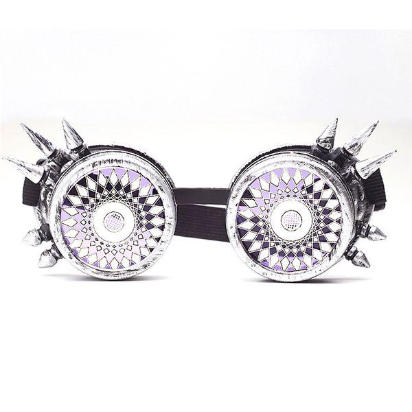 2019 New Steampunk Goggles Vintage New Design Lenses EDM Glasses Gothic Punk Cosplay Goggles Eyewear Retro Welding Halloween