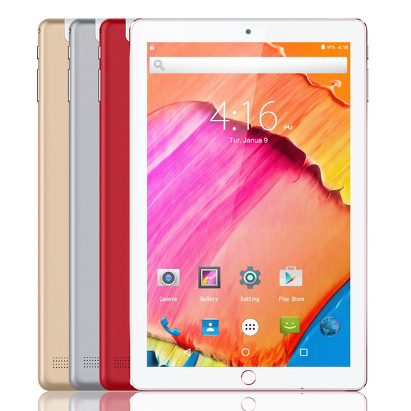 """10.1"""" Tablet Android 8.0,Quad Core 1.3Ghz,2.0MP+5.0MP Dual Camera, 4GB+64GB,WiFi,GMS, Dual SIM Unlocked 3G Phone Call Tablet"""