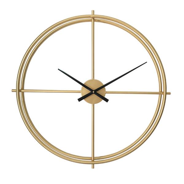 Acquista 94cm Orologio Da Parete Decorativo Grande Vintage Orologio Da  Cucina Creativo Oro Design Nero Grande Marca Orologi Da Parete Grandi ...