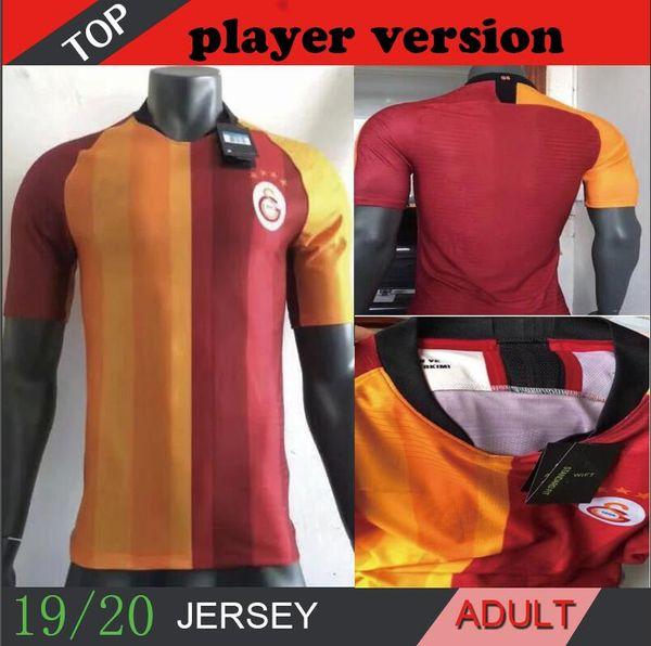 2019 2020 19 20 GALATASARAY HOME Player version Jersey Joueur FERNANDO GOMIS Cigerci Maillots Belhanda FOOTBALL Feghouli