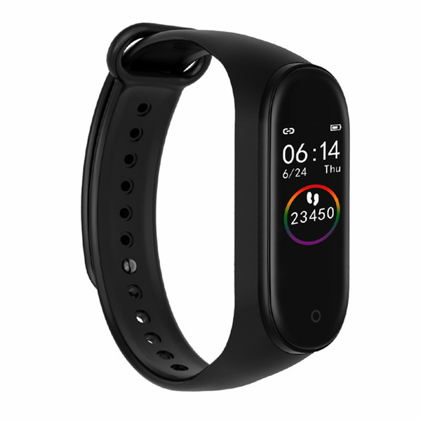 M4 Smart Wristband Sport Fitness Tracker Heart Rate Monitor Bracelet Calories Waterproof IP67 Smart Band Fashion Watch for iOS