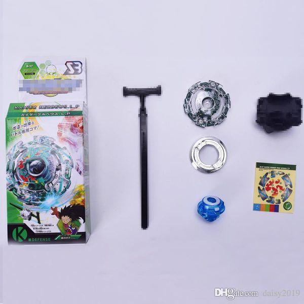 Spinning Top Beyblade irrumpió con Launcher Metal Plastic Fusion 4D Classic Toys Regalo Lucha contra el giro Beyblade Metal Fusion BB803