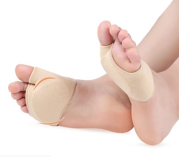 1 Par = 2 Peças Super Macio Pé Polegar Conjunto de Proteção Cuidados Com Os Pés Evitar Hálux Valgo Anti Deslizamento Anti Knock Meias Meias de Alta-salto sapatos
