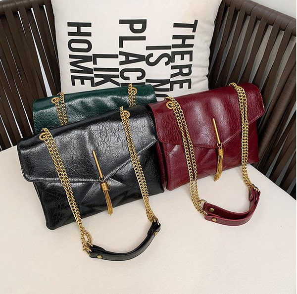 Wholesale2019 Top quality Fashion Women handbags ladies famous bags womens pu handbag female Designer bags purse shoulder tote Bag B103205D