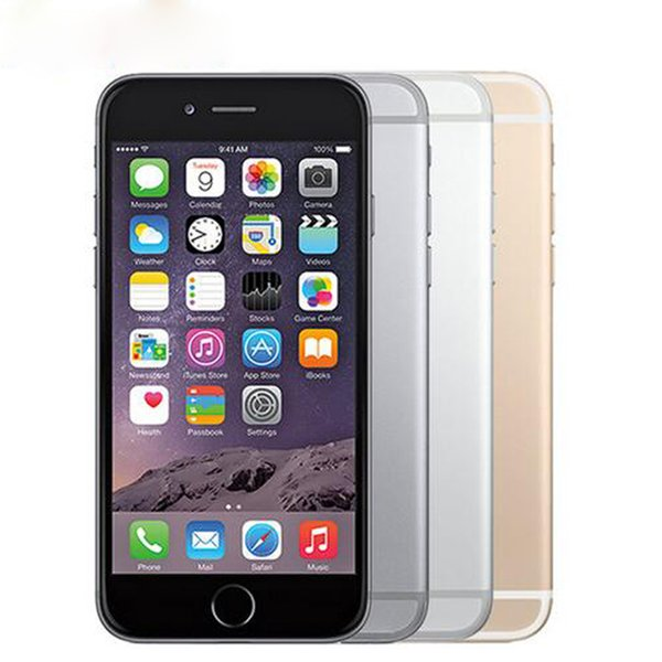 Original Unlocked Apple iPhone 6 Plus 4G LTE Mobile Phones 16GB/64GB/128GB ROM 4.7/5.5 inch iPhone 6p WCDMA IOS NFC Smartphones