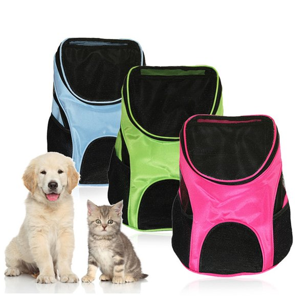 Pet Dog Fashion Mesh Foldable Oxford Bags Breathable Outdoor Travel Carrier Backpack For Small Dogs Cats PB759