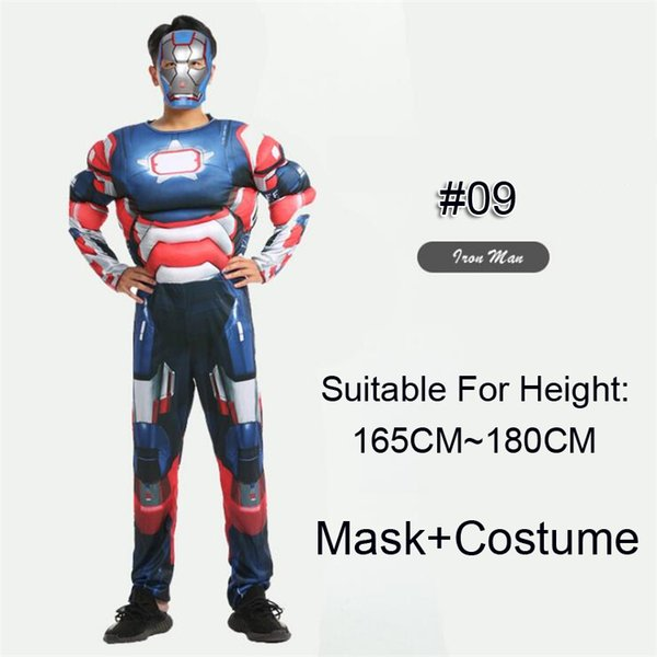 #09 Iron Man(Blue)