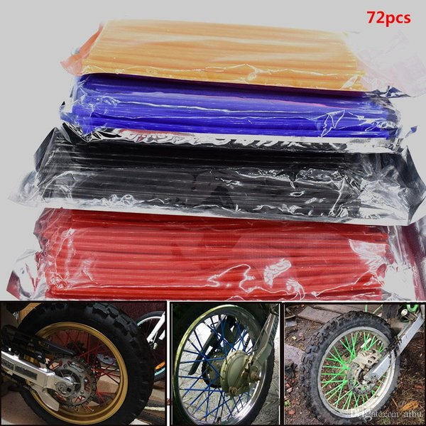For Motorcycle Dirt Pit Bike Wheel Skin Cover Wrap Tube Protector for HONDA CR80R 85R CRF150R CR125R 250R CRF250R