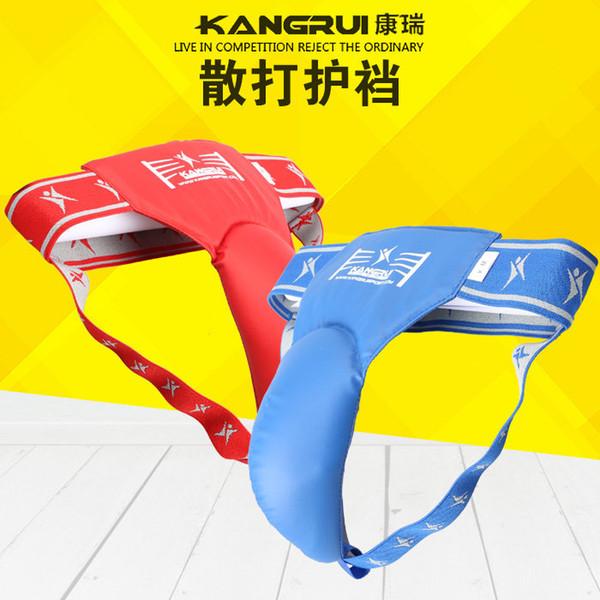 Sanda Crotch Guarda Karatê Muay Thai Boxe Kickboxing Taekwondo Protetor de Virilha Jockstrap Supporter Treinamento Esporte Segurança