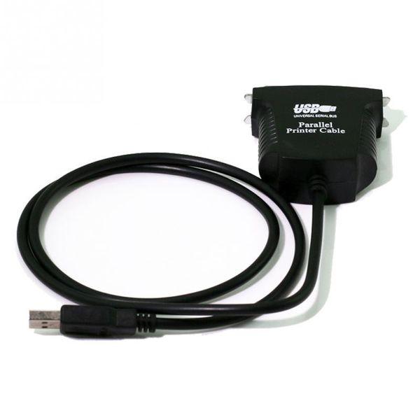 100 teile / los 36 Pin USB zu Parallel IEEE 1284 Druckerkabel für Computer PC Lead Adapter Laptop Brand New