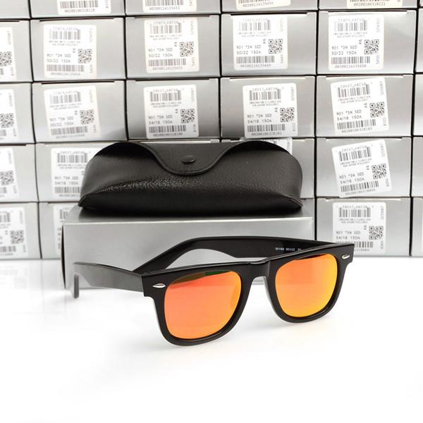 Black Frame Red Lens 50MM
