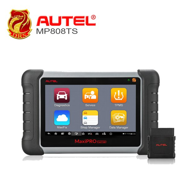 Autel MaxiPRO MP808TS OBDII Diagnostic Tool WIFI Bluetooth OBD2 Scanner Full TPMS Service TPMS Activation Programming PK MS906BT