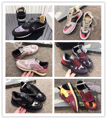 2019 Luxury Designer Top Quality Men's and Women's 20 Fashion and High-quality Leisure Shoes Party Wedding Crystal Leather Leisure Shoes A07