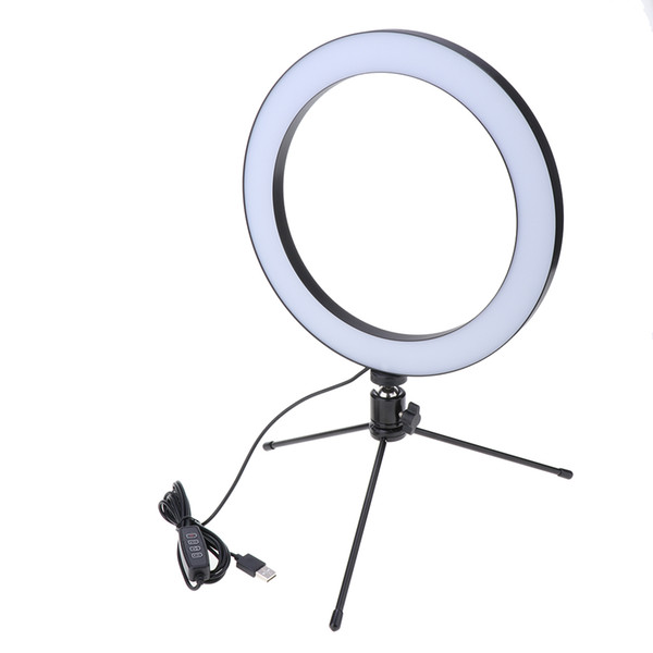 MagiDeal Large Ring Light+Tripod+Selfie Stick 26cm/10inch 122 LED Universal Cold & Warm Light Enhanced for iPhone XS for Huawei