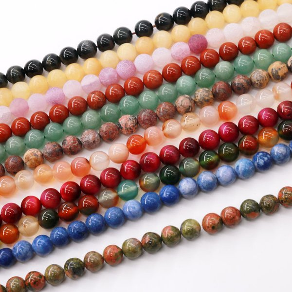 Grande Estoque Mulheres / Elder / Homens / Crianças Semi-Gemstone Contas Multi Estilo Jóias Decoraton Beads Handmade Frete Grátis