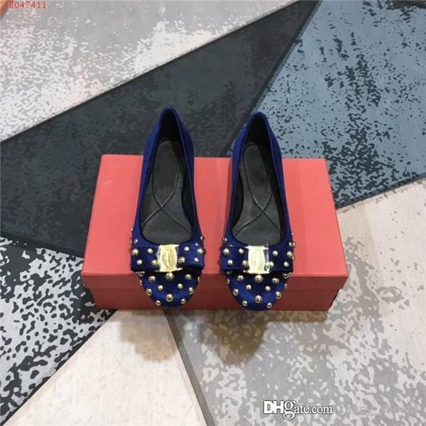 السيدات احدث الكلاسيكي المألوف القوس مطرز ربطة عنق من الحرير الصندل حفل زفاف المنزلية الخروج حذاء واحد المناسبة، حجم 35-39