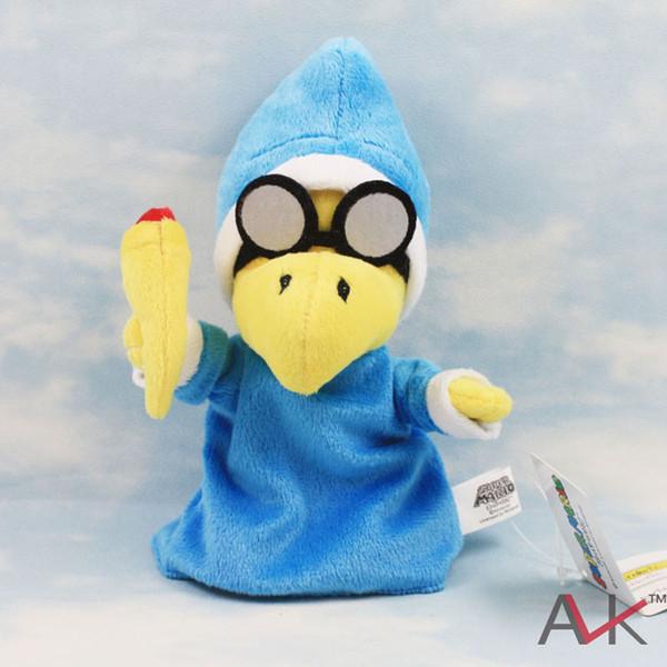 Cartoon Super Mario Bros Magikoopa Kamek Kids Plush Stuffed Doll Toy For Children Boys Girls Best Holiday Gifts Wholesale