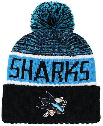 SAN JOSE SHARKS Ice Hockey Knit Beanies Embroidery Adjustable Hat Embroidered Snapback Caps Orange White Black Stitched Hat One Size