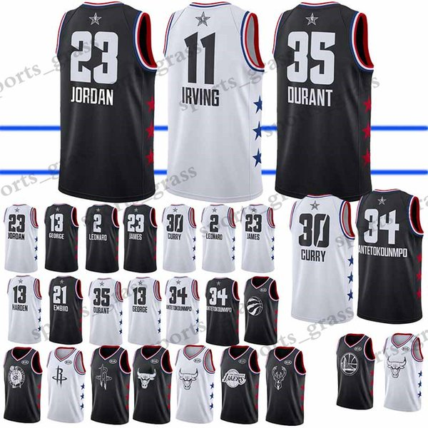 official photos de029 3a9a0 2019 2019 All Star 23 LeBron James Jersey 13 Harden Kyrie 11 Irving Kevin  35 Durant Stephen 30 Curry Dwyane 3 Wade From Sports_grass, $24.5 | ...
