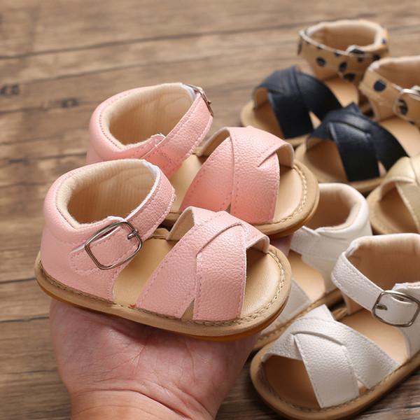 Neugeborenes Kleinkind Kleinkind Baby Mädchen Jungen Prinzessin Schuhe Sandalen Prewalker Schuhe Sandalen Femme 2019 Mädchen Schuhe