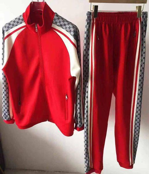 2019sss عالية الجودة رجل سوياتشيرتس عرق دعوى ماركة تصميم الملابس الرجال رياضية سترات رياضية مجموعات الركض الدعاوى
