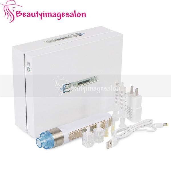Auto Elétrica Derma Pen Micro rolos de agulhas Anti-rugas Beleza Stamp pele Pen Anti Aging Skin Care Therapy SPA
