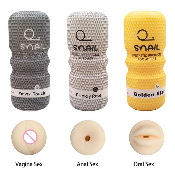 Реалистичная вагина анальный Мужской мастурбатор Силиконовые Мягкие Tight Pussy Erotic Взрослые игрушки Секс игрушки для мужчин Masturbatings машины DHL