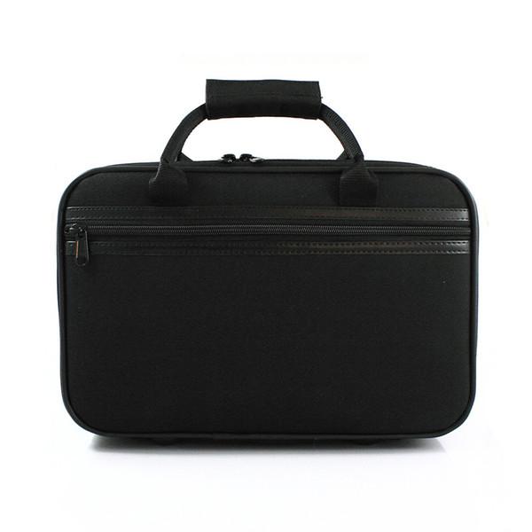 Caixa de flanela de alta qualidade bB Clarinete carring caixa de lona à prova de choque à prova de choque à prova d 'água pacote de ombro preto anti-lance cobertura Acolchoada