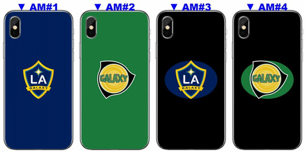 [TongTrade] Soft Silicone TPU Cover Case For iPhone X 8 7 6s 5s Plus Los Angeles Galaxy Coloured Painting Galaxy S9 S8 S7 S6 Edge Plus Case