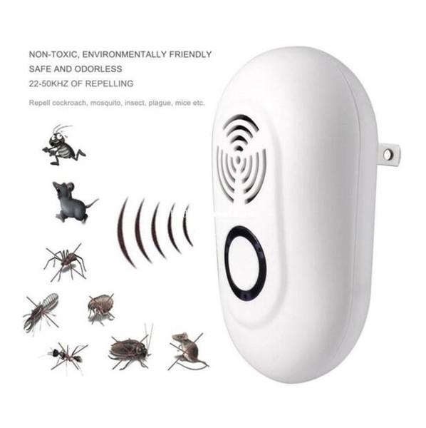 Ultrasuoni parassiti respingere repeller zanzara elettrico nuovo stile trappola scarafaggio dell'interno zanzara killer parassita controllo 100 v-240 v CLS360