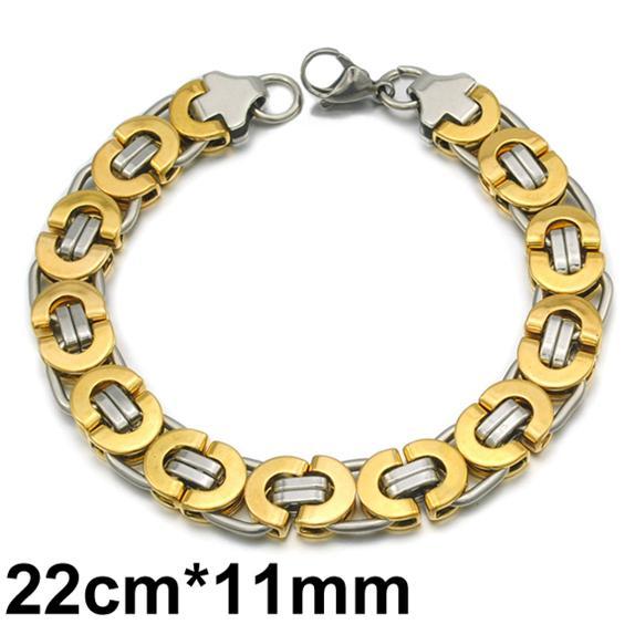 الفضة 11MM الذهب