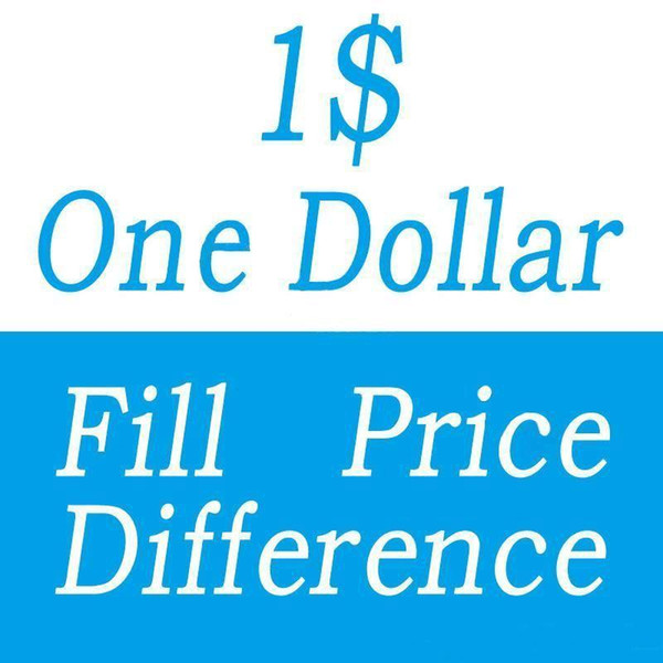 best selling One Dollar Fill Price Difference payment for DHL EMS Box Different Extra Cost Diferent Shipping Ffee Etc