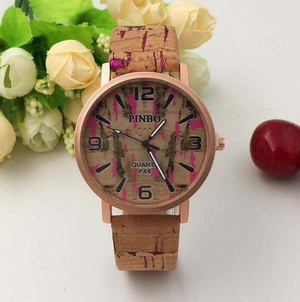 Korean version of the small fresh tree strap student watch Creative ladies fashion quartz watch