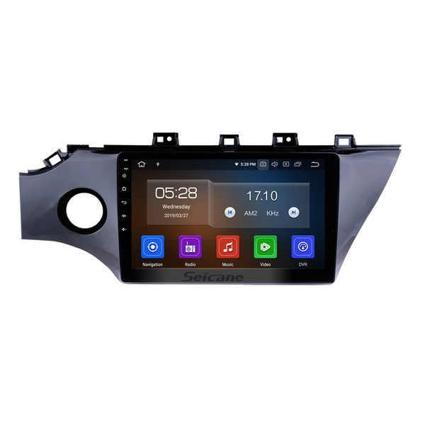 Quad-core Android 9.0 10.1 Inch HD Touchscreen Car Stereo GPS Navigation for KIA RIO K2 2 with Bluetooth Music Support OBD2 Car dvd 4G 1080P