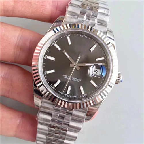 Sıcak satış Erkek saatler Otomatik mekanik İzle 2813 hareketi Lüks Altın Moda Yeni paslanmaz çelik toka Adam markalar saatı