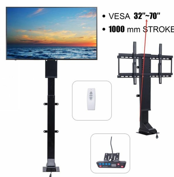 """TV Lift Motor for 32""""- 70"""" TVs Height Adjustable with Remote Controller"""