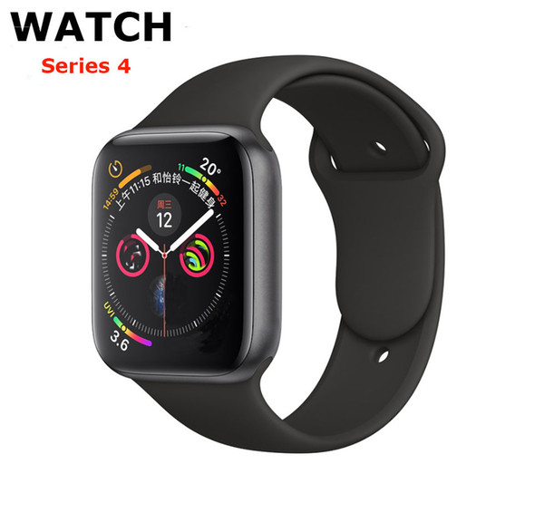 For iPhone iWatch IWO 9 Smart Watch 44mm Series 4 1to1 Bluetooth Smartwatch Heart Rate Monitor Sport Wristwatch For iPhone Samsung