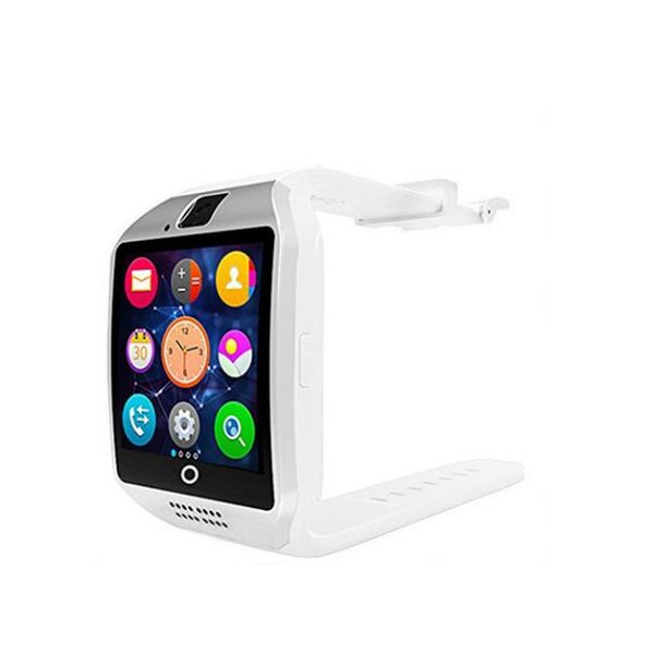 Wholesale Q18 Smart Watch Bluetooth Wristwatch Curved Touch Screen Support Sim Card Memory