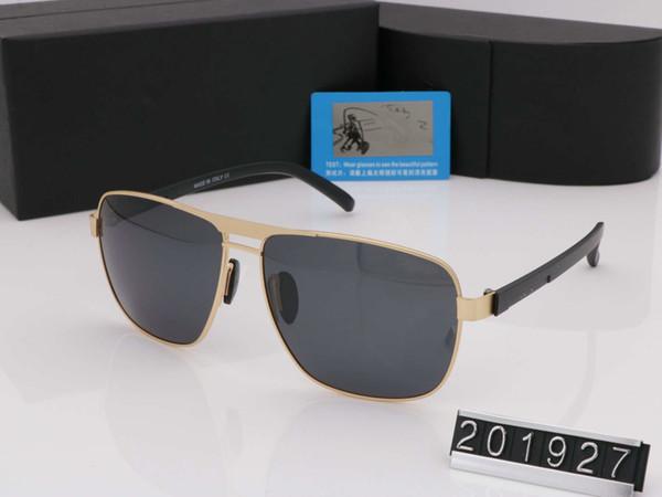 2019 New Man Summer marque de style lunettes de soleil polarisées femme et homme designer protection uv objectif transparent vintage Full Rim